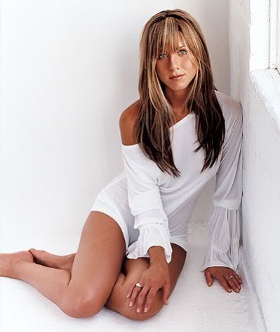Jennifer Aniston; Finally Can Get Out Of The Corner.  File Photo
