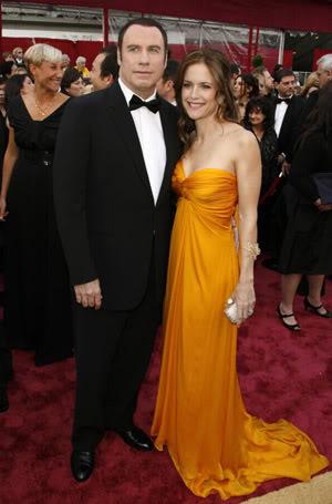 John Travolta & Kelly Preston.  Photo: People.com