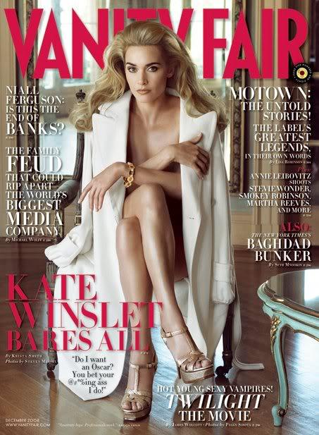 Kate & All Her Hotness On Vanity Fair.  Photo: VanityFair.com