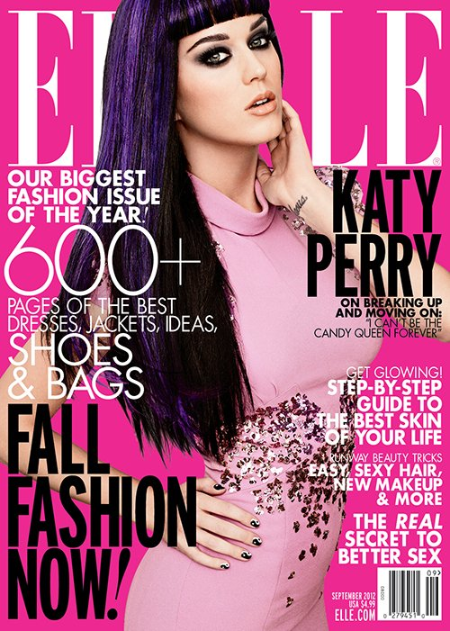 Katy Perry Photo: Carter Smith For Elle Magazine