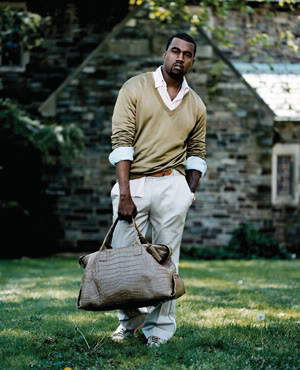 Kanye: With Success Comes Unwanted Baggage.  File Photo