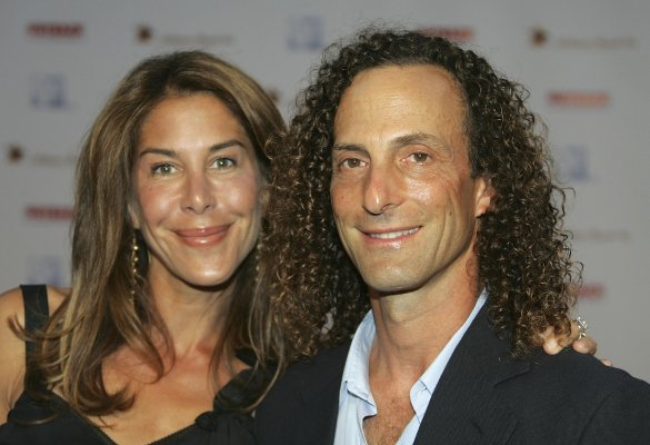 Kenny G & Lyndie Benson-Gorelick Photo:  GettyImages.com