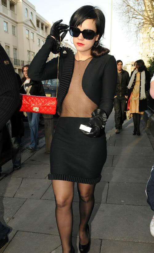 Lily Allen, Is It Cold Out?  Photo: Splashnewsonline.com