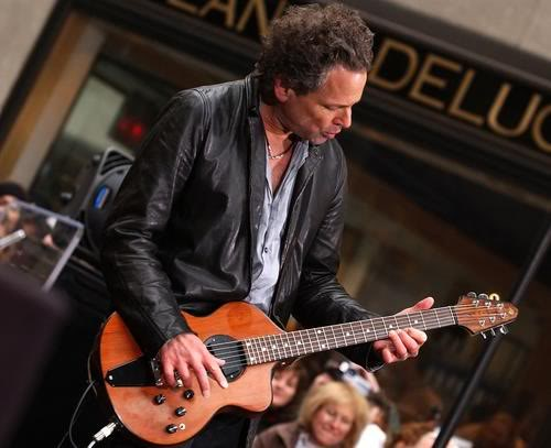 Lindsey Buckingham Ended His Tour In New York Last Night.  File Photo