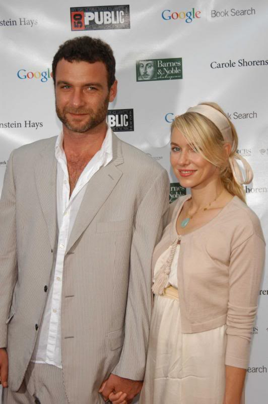 Naomi Watts & Liev Schreiber Welcome 2nd Child.  File Photo