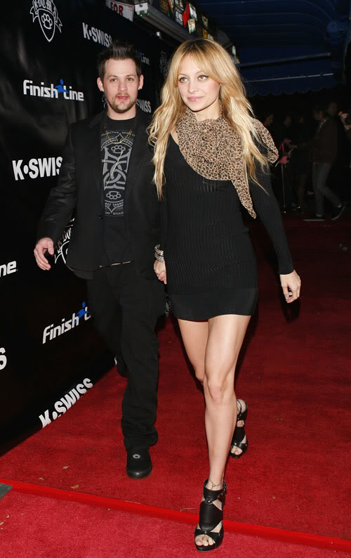 If You Were Joel, Wouldnt You Be Following Nicole?  Photo: Wireimage.com