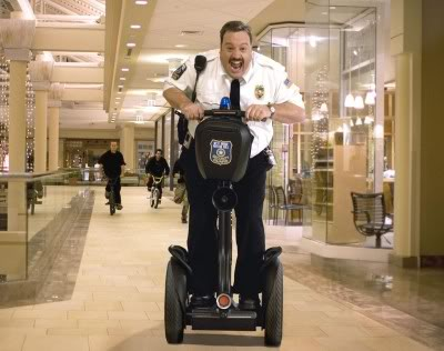 Paul Blart: Mall Cop Rolls His Way To Number 1. Photo: Columbiapictures.com