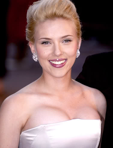 Scarlett Johansson Is Flattered.  Well, Not In This Pic.  File Photo