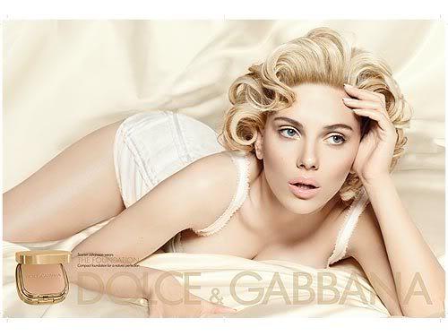Scarlett Johansson:  Photo:  Dolce & Gabbana For People.com