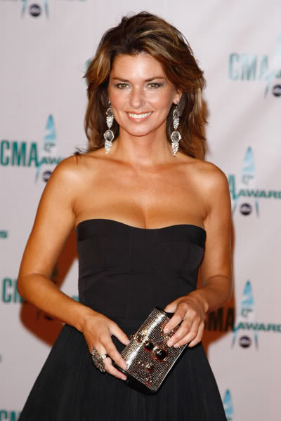 Shania Makes First Public Appearance In Months.  Photo: Getty Images