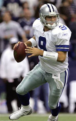 Will Romo Be In Action On Sunday?  Photo: AP