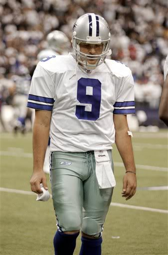 Tony Romo Collapsed In Shower After Game.  File Photo
