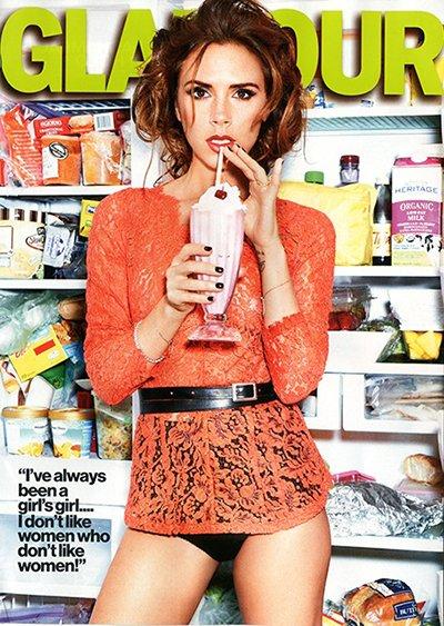 Victoria Beckham Pamela Hanson for Glamour