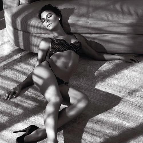 Victoria Beckhams Underwear Campaign.  Photo: Armani