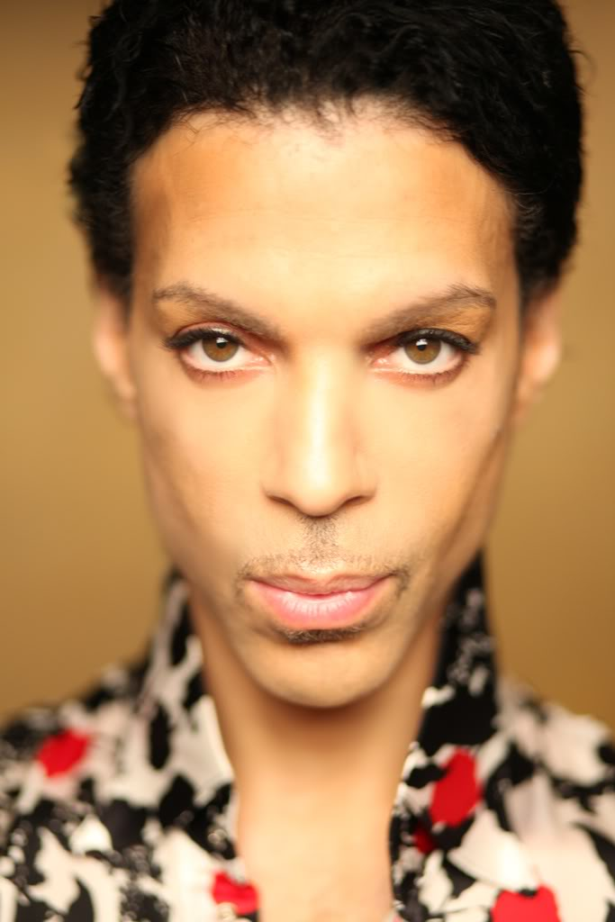 Prince Slicked Back.  Photo:Afshin Shahidi for L.A. Times