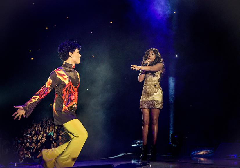 Prince & Jennifer Hudson.  HD Copyright NPG Records Exclusive Use For Drfunkenberry.com