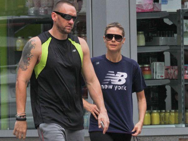 Heidi & The Bodyguard.  Photo:  SplashNewsOnline.com