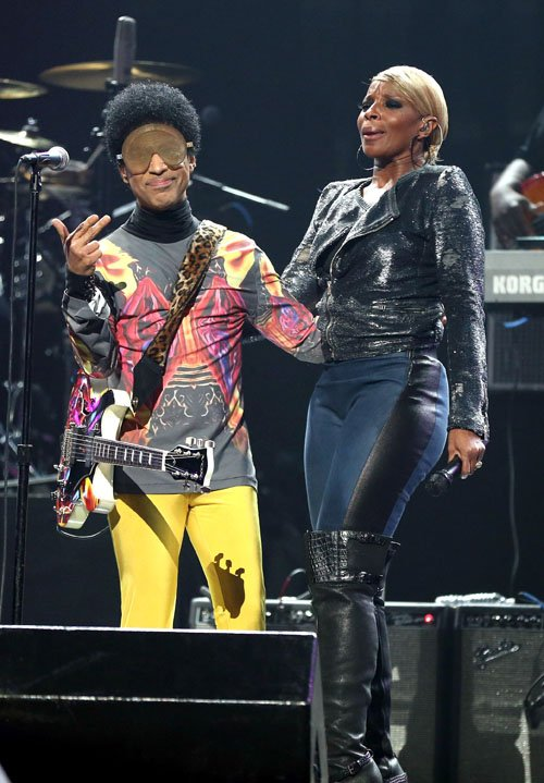 Prince & Mary J. Blige  photo:  GettyImages.com
