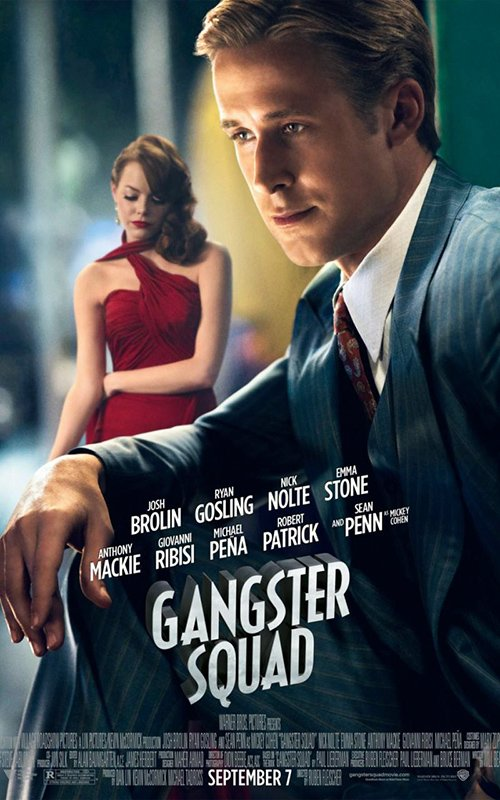 Gangster Squad Ryan Gossling