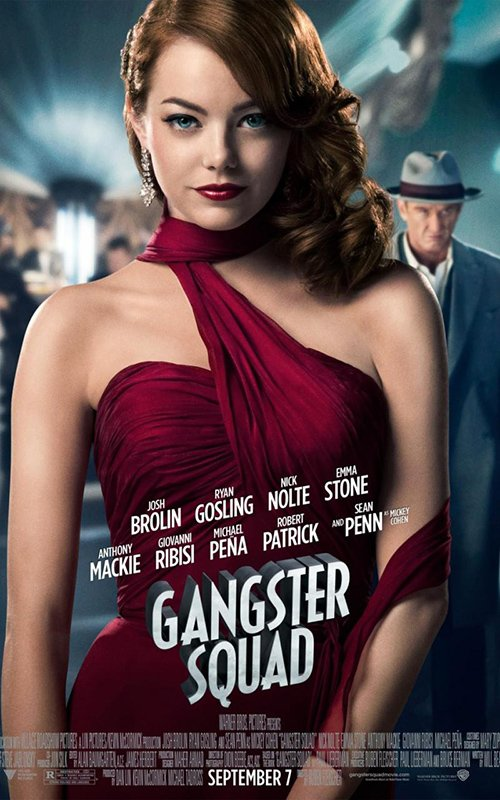 Gangster Squad Emma Stone