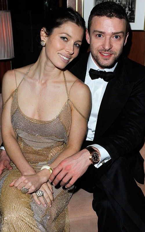 Jessica Biel & Justin Timberlake  Photo:  GettyImages.com