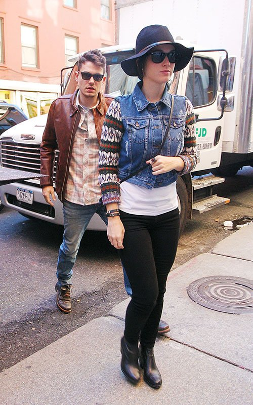 John Mayer & Katy Perry  Photo:  PacificCoastNewsOnline.com