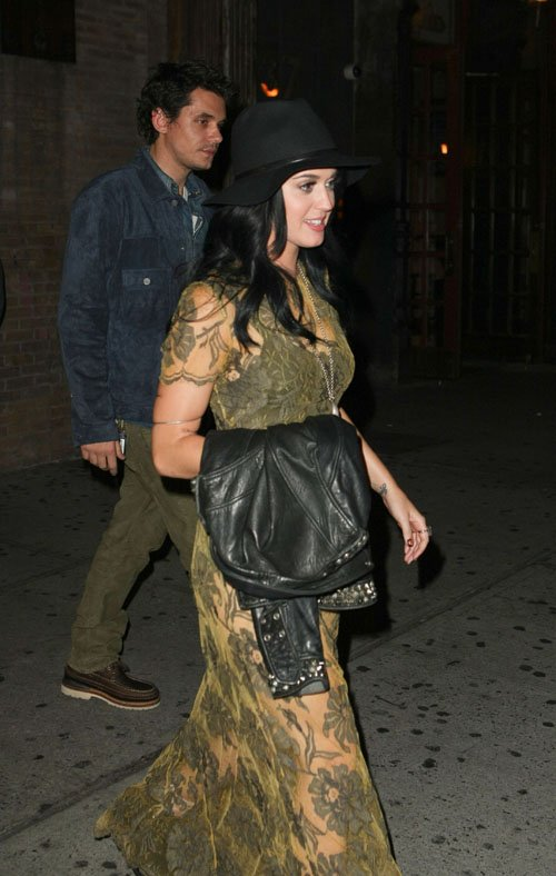 Katy Perry & John Mayer.  Photo:  INFDaily.com