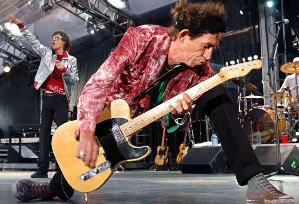 Keith Richards  Photo:  Handmademusic