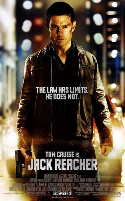 Tom Cruise  Jack Reacher Promo Poster