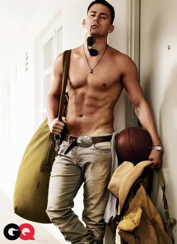 Channing Tatum  Photo: GQMagazine.com