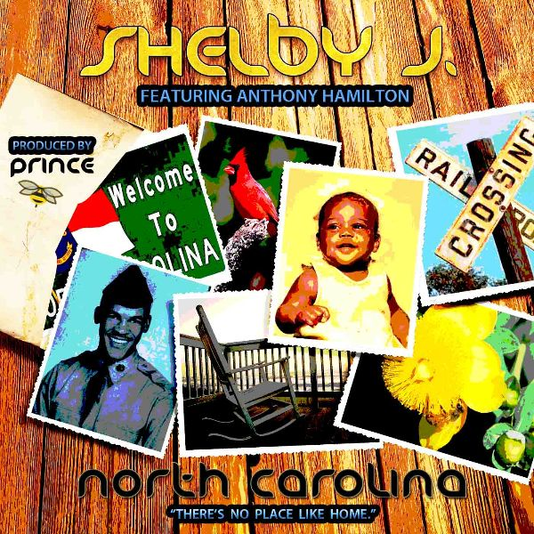 """North Carolina"" Shelby J. & Anthony Hamilton Cover Photo"