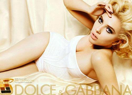 Scarlett Johansson For Dolce & Gabanna
