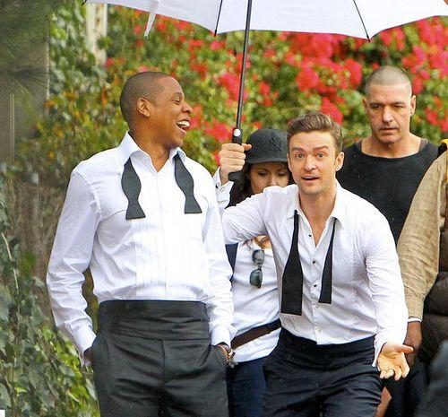 Jay Z & Justin Timberlake  Photo:  SplashNewsOnline.com