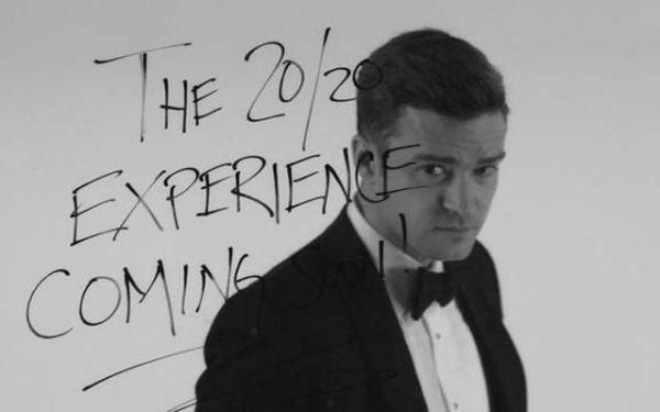 Justin Timberlake Suit & Tie Promo