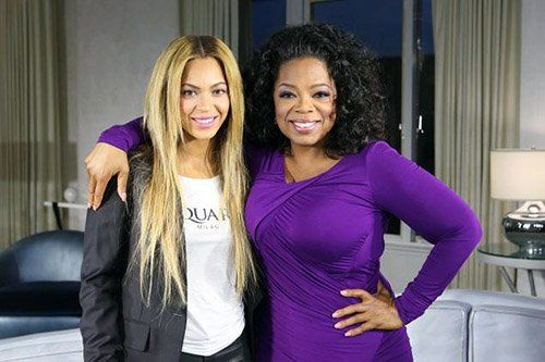 Beyonce &amp; Oprah Photo: OWN