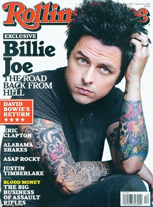 Billie Joe Armstrong Photo: Rolling Stone.com