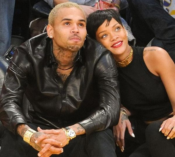 Chris Brown & Rihanna Photo:  GettyImages.com