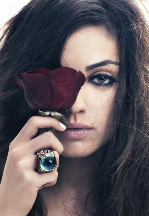 Mila Kunas  Photo: Craig McDean for Marie Claire UK