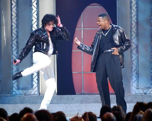 Michael Jackson &amp; Chris Tucker  Photo: GettyImages.com