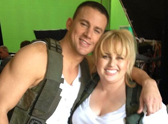 Channing Tatum&amp; Rebel Wilson Photo: MTV.com