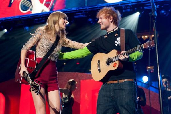 Taylor Swift &amp; Ed Sheeran Photo: Fuse.TV