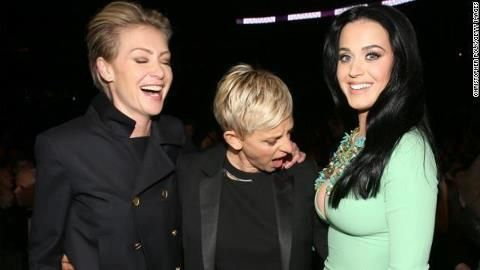 Portia, Ellen, & Katy Perry's Boobs