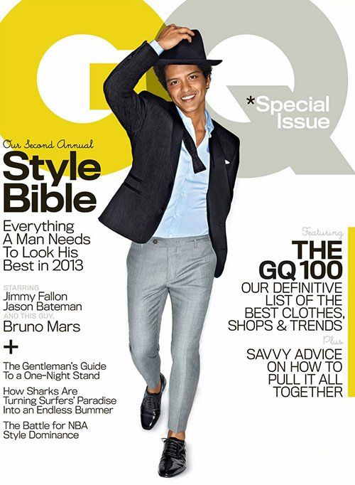 Bruno Mars Photo: Peggy Sirota for GQ