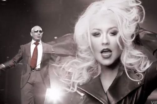 Pitbull & Christina Aguilera Photo: Vevo
