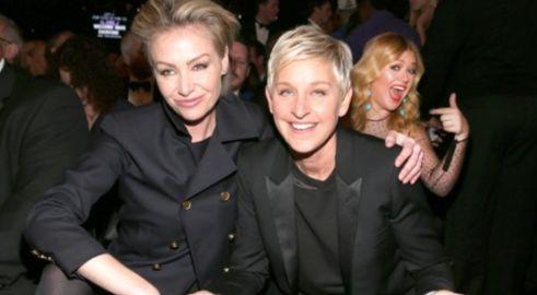 Portia & Ellen DeGeneres & Kelly Clarkson  Photo: GettyImages.com
