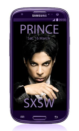 PRINCE Samsung Image Created By LV