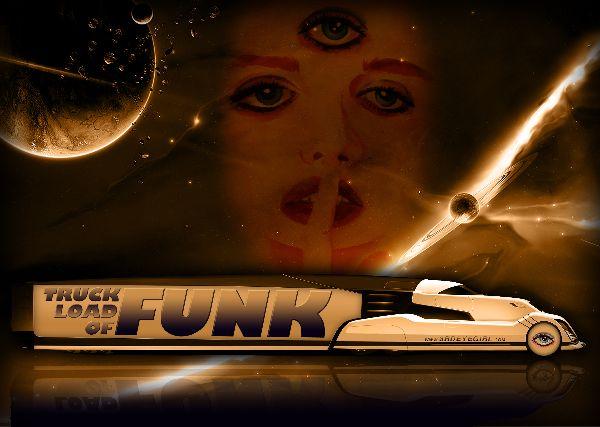 Truck Load Of Funk 3rd Eye Girl Design By LV