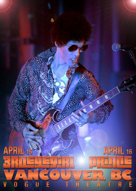 Prince and 3RDEYEGIRL Tour Opener - Vancouver