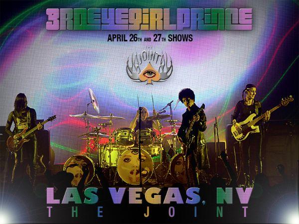PRINCE & 3rdEyeGirl Las Vegas Image By LV