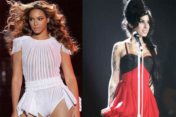 Beyonce & Amy Winehouse Image By celebnmusic247.com